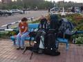 Přílet do Krasnojarsku